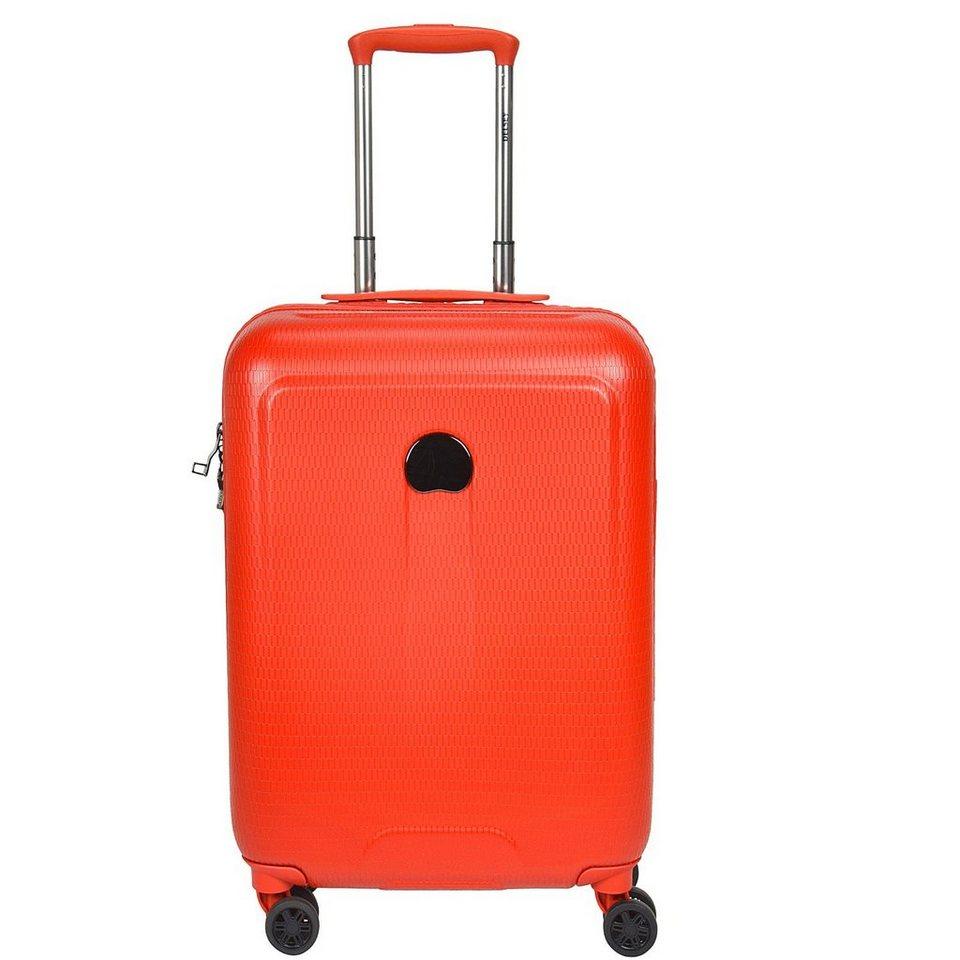 Delsey Helium Air 2 4-Rollen Kabinentrolley 55 cm in orange