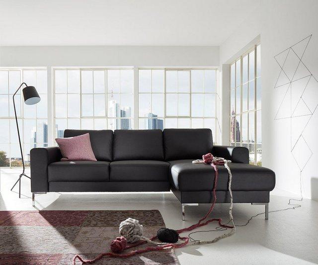 Sofas - DELIFE Eckcouch Silas 235x147 cm Ottomane Designer Ecksofa  - Onlineshop OTTO