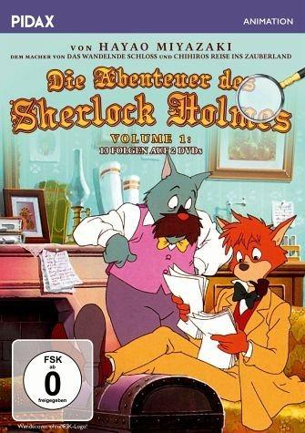 DVD »Die Abenteuer des Sherlock Holmes - Volume 1...«