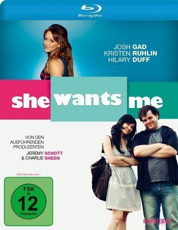 Blu-ray »She Wants Me«