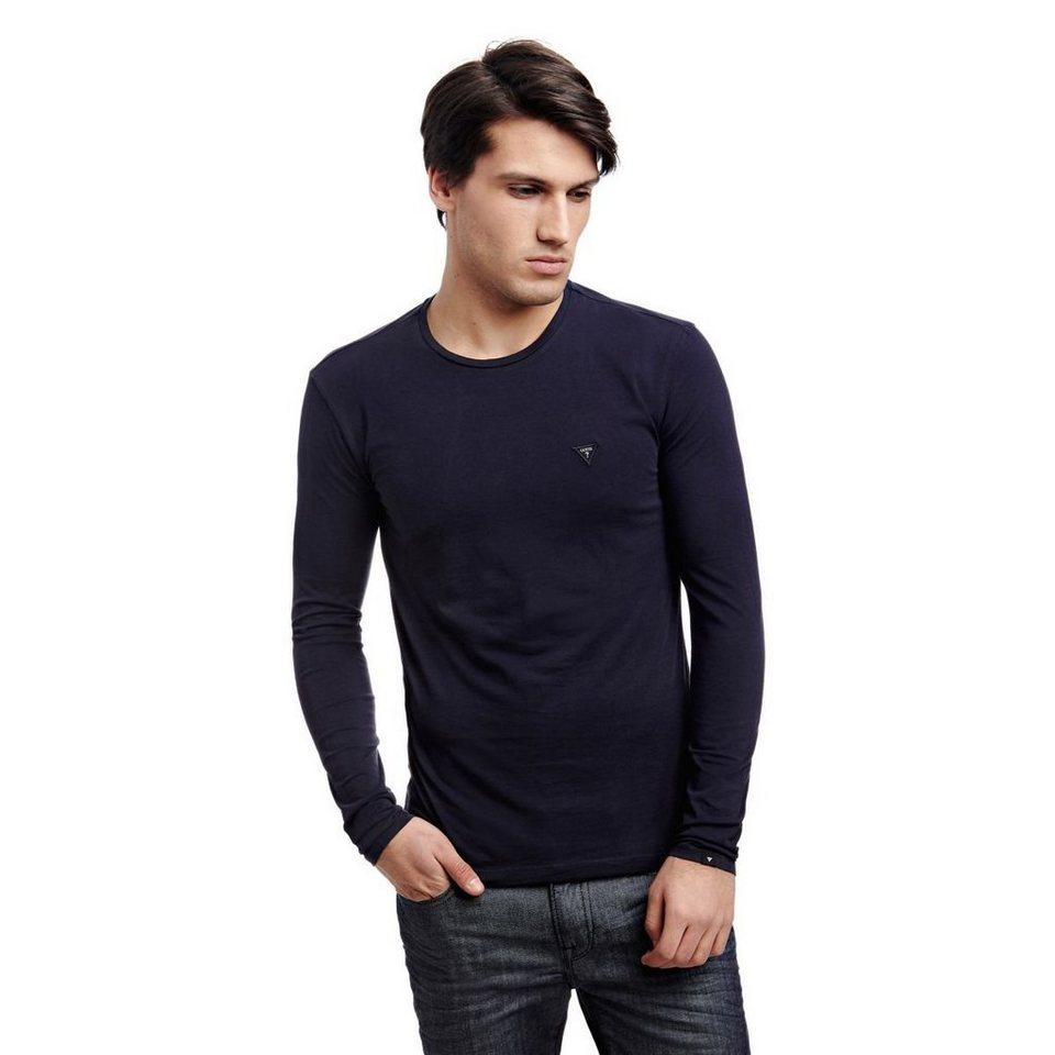 Guess T-Shirt aus Baumwolle in Blau