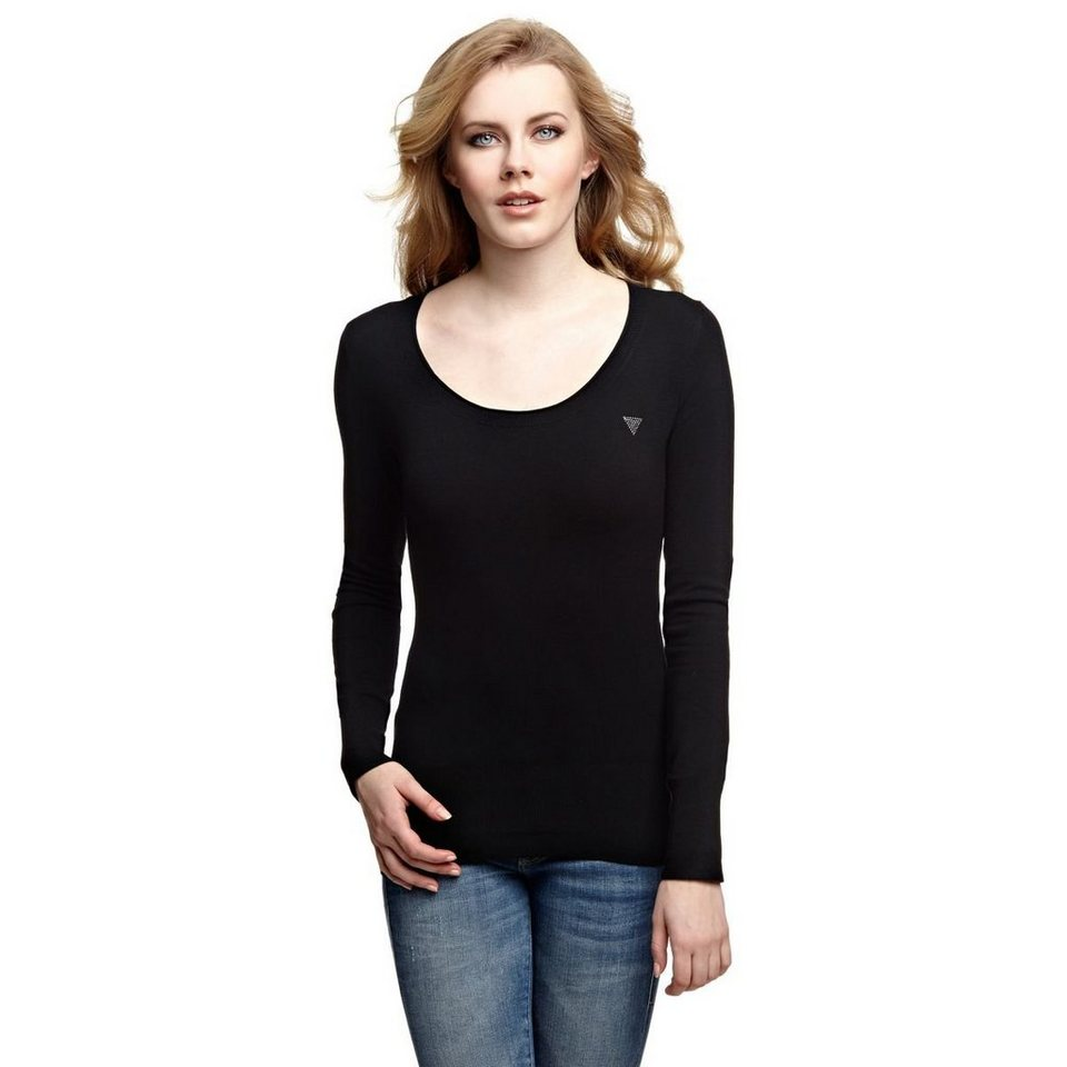 Guess Pullover »Routh« in Schwarz
