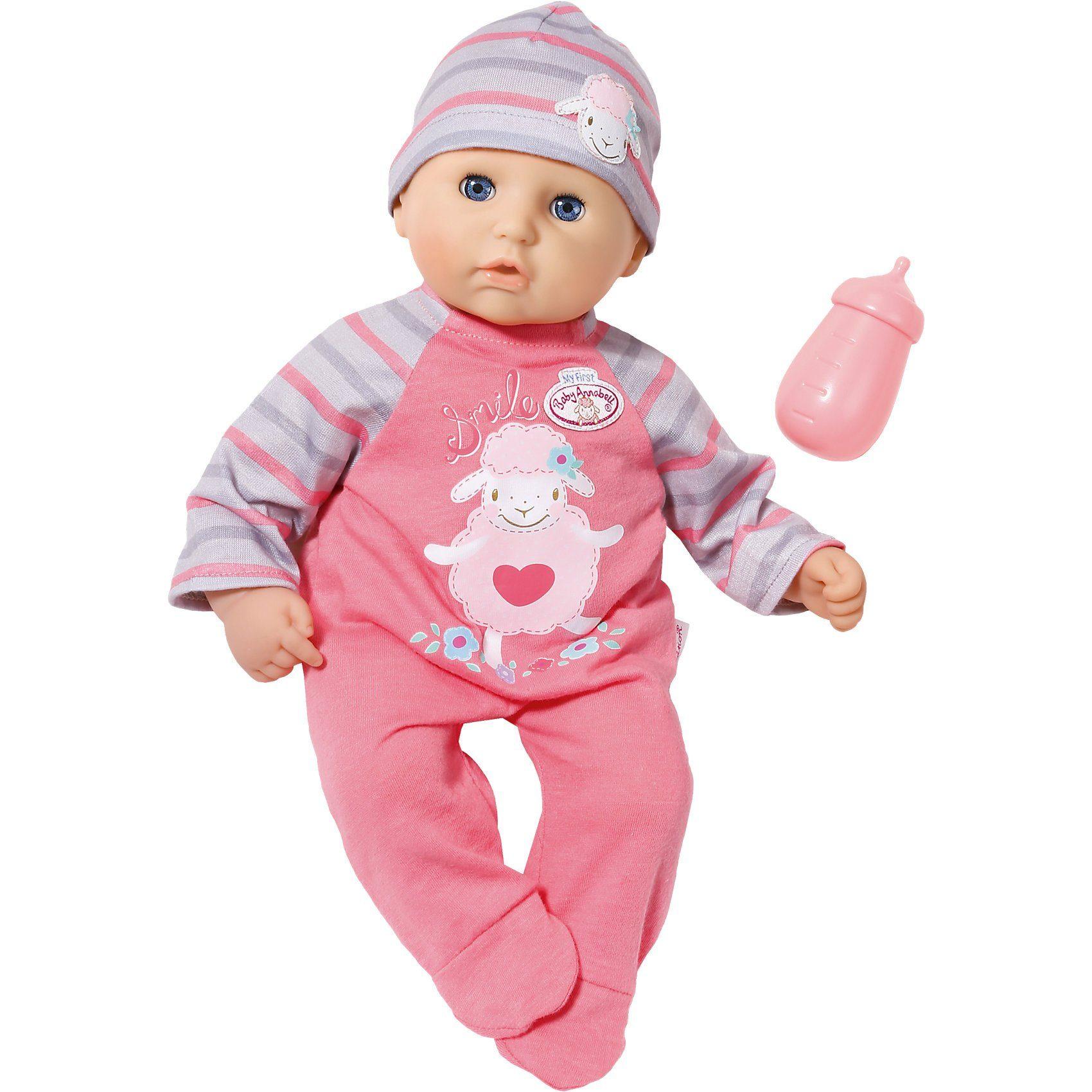 Zapf Creation My First Baby Annabell® Babypuppe mit Schlafaugen - Exklusiv