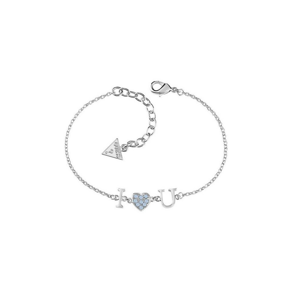 Guess VERSILBERTES ARMBAND in Silber