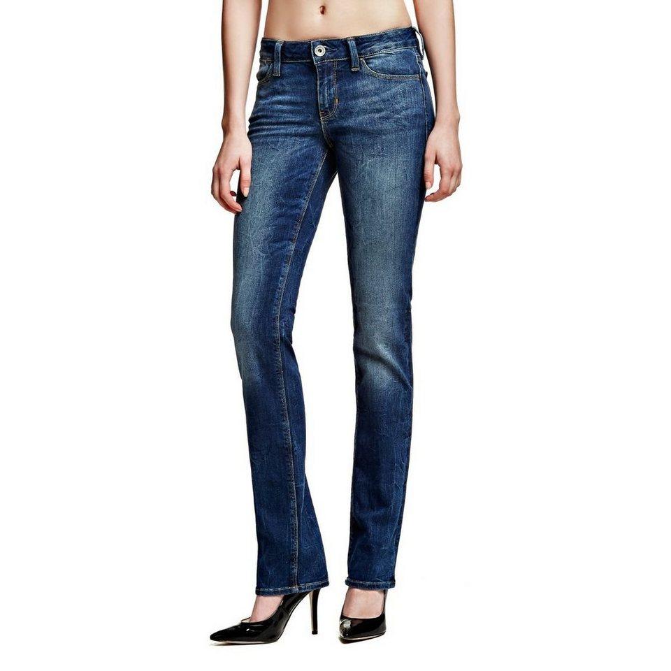 Guess Jeans »Cigarette Mid Beauty« in Blau