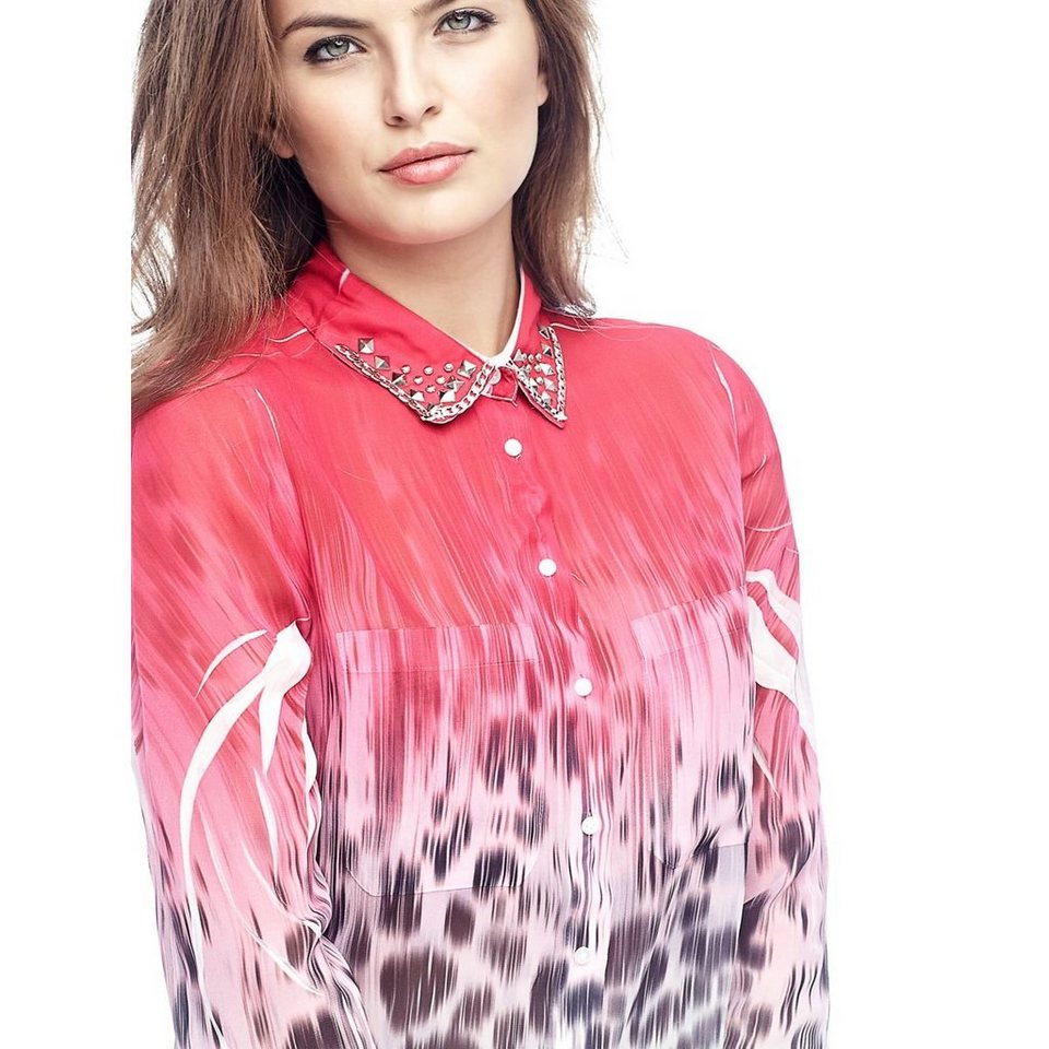 Guess PRINTBLUSE in Rot/merf.