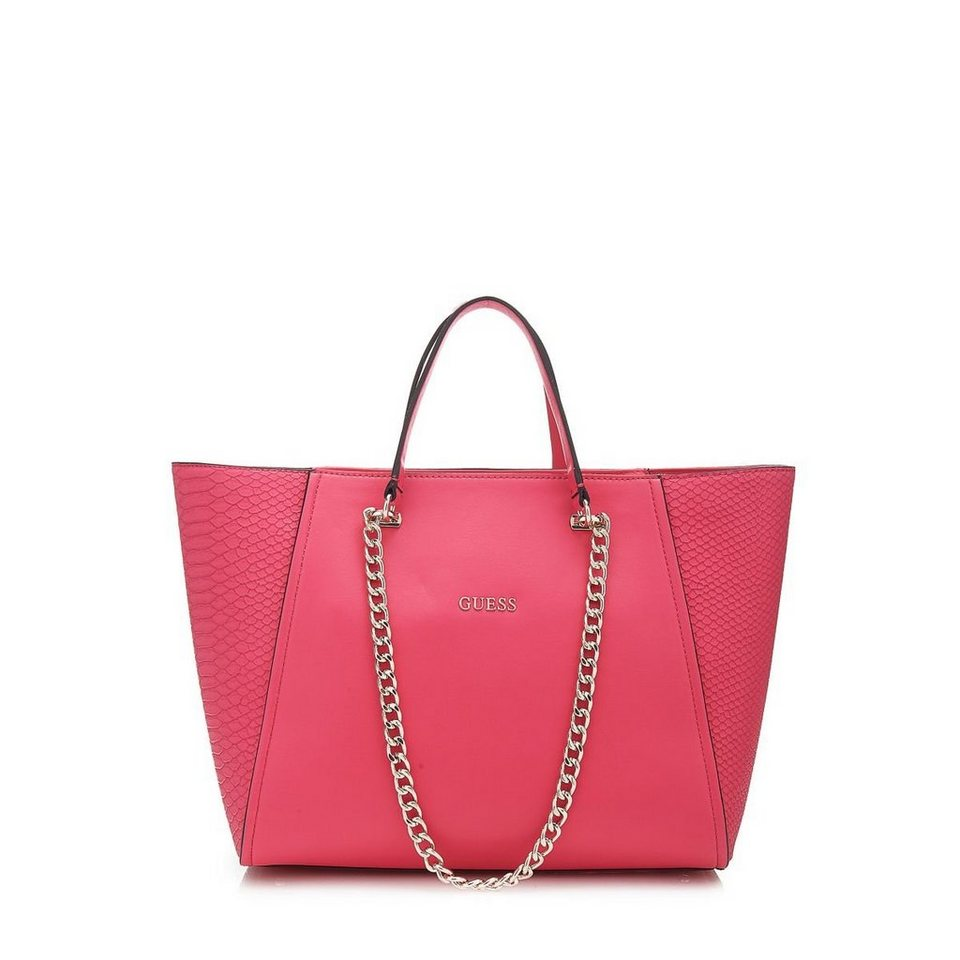 Guess SHOPPER NIKKI PYTHON-OPTIK in Rose