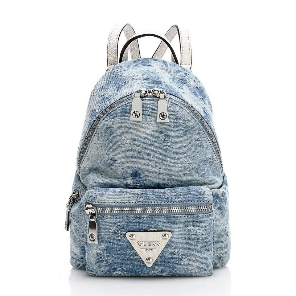 guess kleiner jeans rucksack leeza online kaufen otto. Black Bedroom Furniture Sets. Home Design Ideas