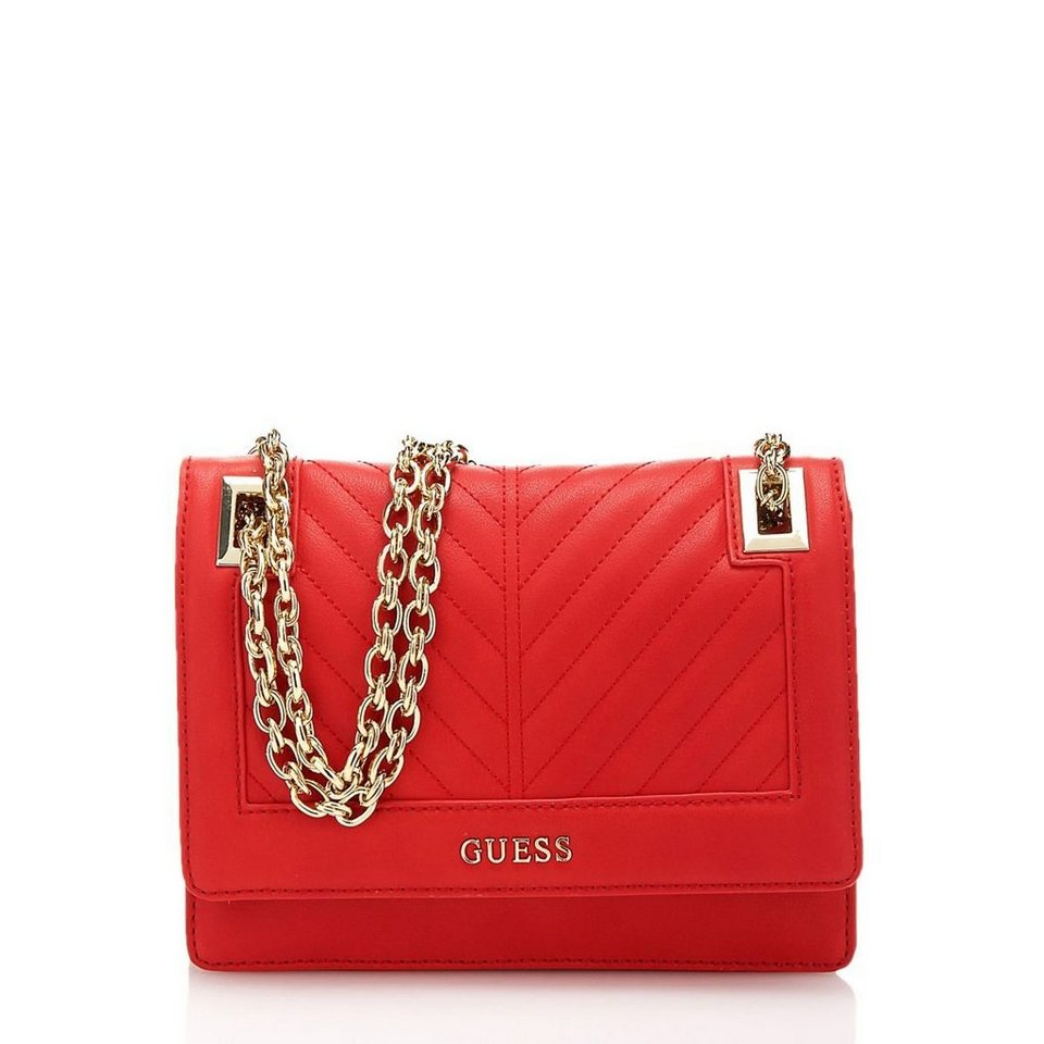 Guess UMH.-TASCHE DOPPELFUNKTION ADDISON in Rot