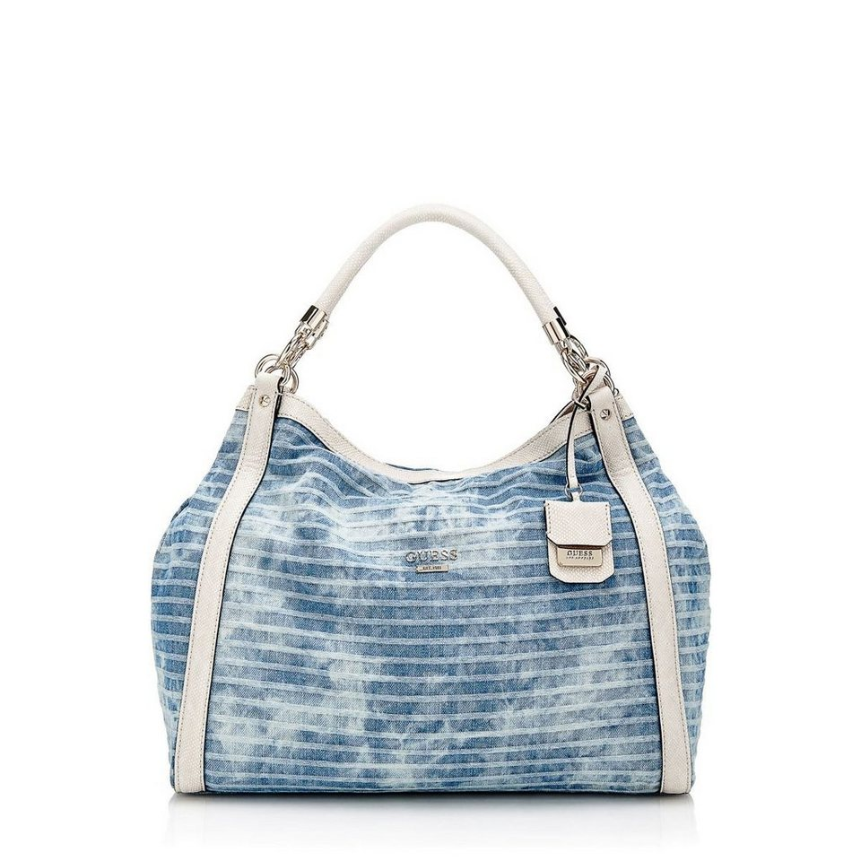 Guess JEANS-SCHULTERTASCHE SHELLEY in Blau