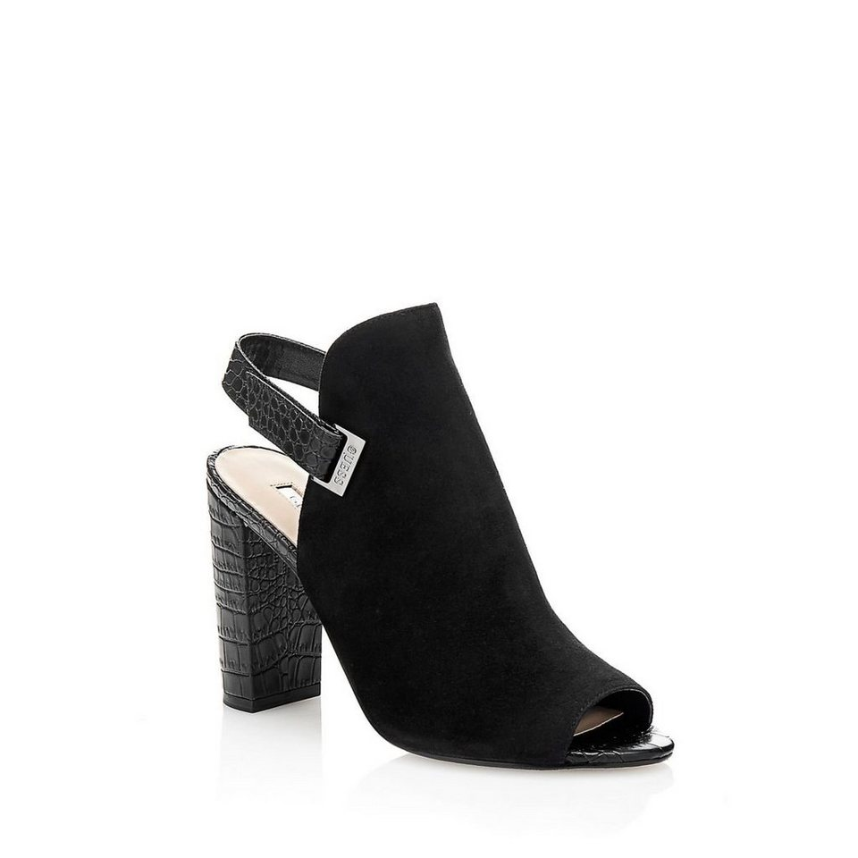 Guess ANKLE BOOT BAYO VELOURS in Schwarz