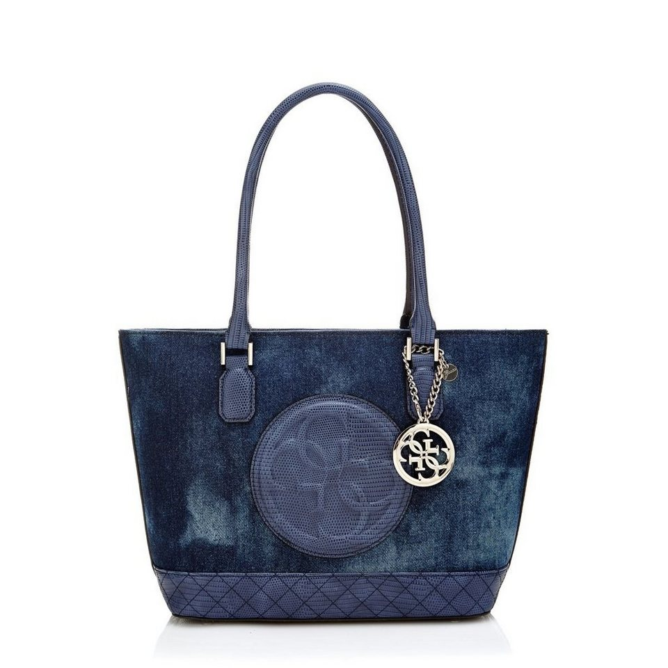 Guess KLEINER SHOPPER KORRY in Blau