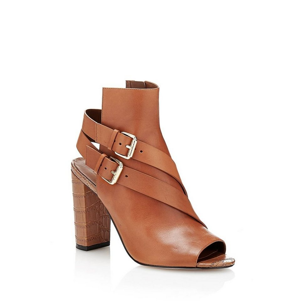 Guess ANKLE BOOT BAYLESS AUS LEDER in Braun
