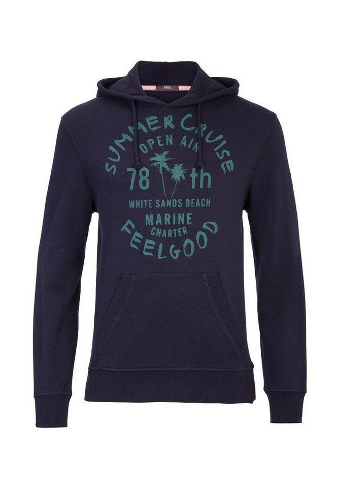 BRAX Herrensweatshirt »SULLIVAN« in NAVY