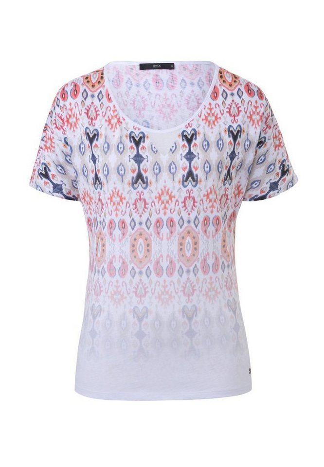 BRAX T-Shirt »CAELEN« in PEACH