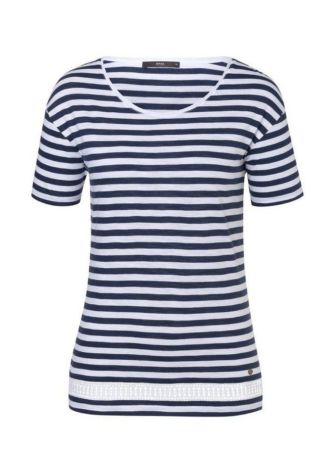 BRAX Damenshirt »CORA« in OCEAN BLUE