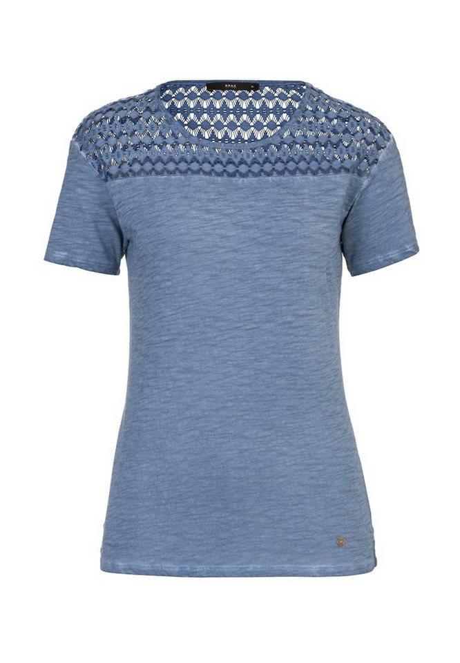 BRAX T-Shirt »CIRA« in INDIGO
