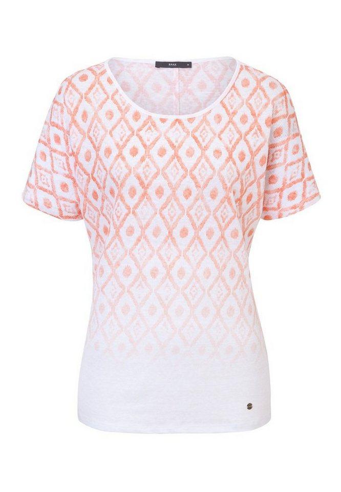BRAX T-Shirt »CAELEN« in PEACH