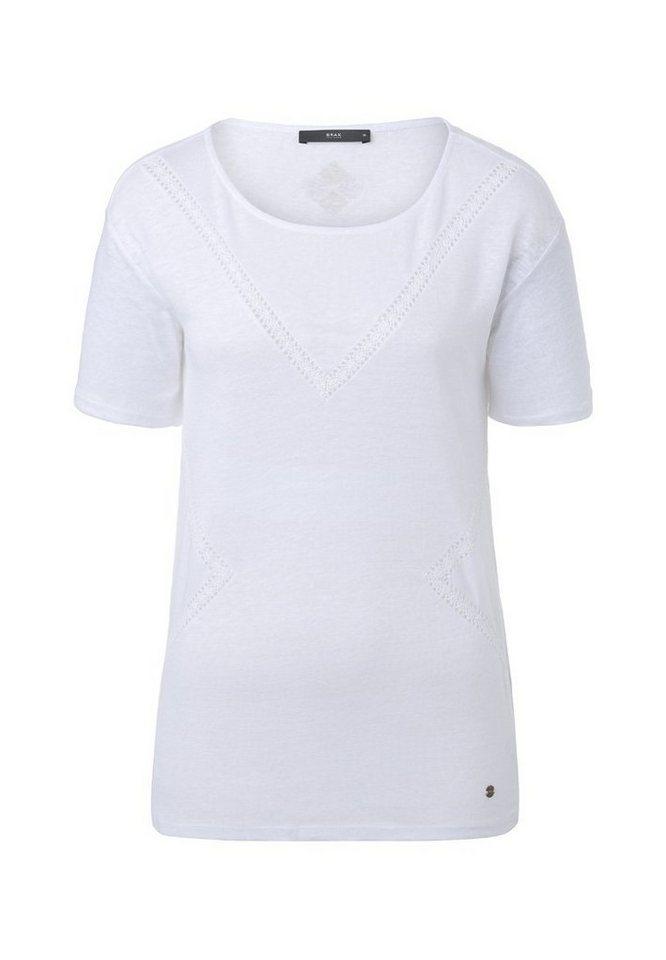BRAX T-Shirt »CIRA« in WHITE
