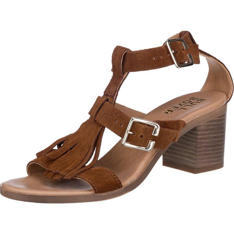 BULLBOXER Sandaletten in braun