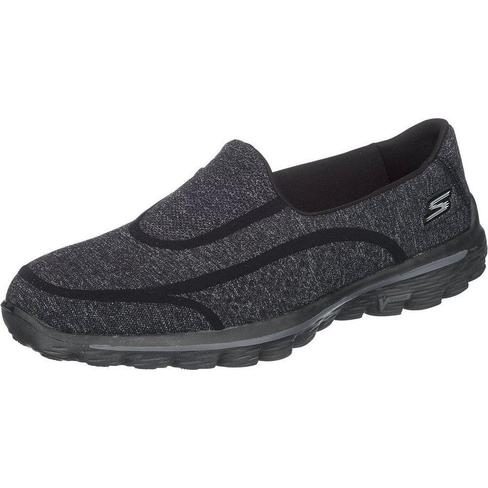 SKECHERS GO Walk 2 Super Sock 2 Sneakers in schwarz