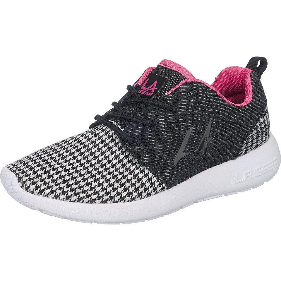 LA Gear Sunrise Sneakers in schwarz-kombi