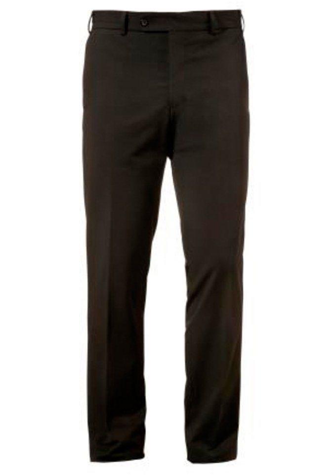 Trachtenhose mit geradem Bein, Murk in schwarz