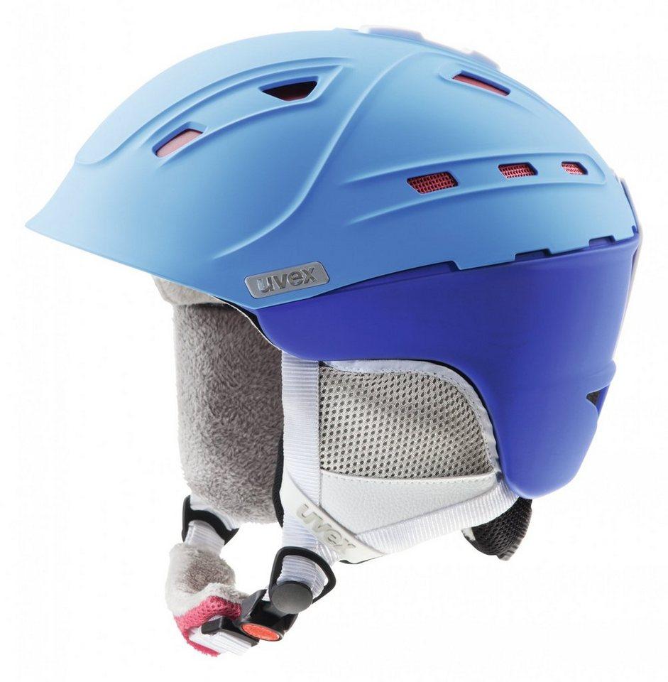 UVEX Ski - / Snowboardhelm »p2us WL Women« in blau