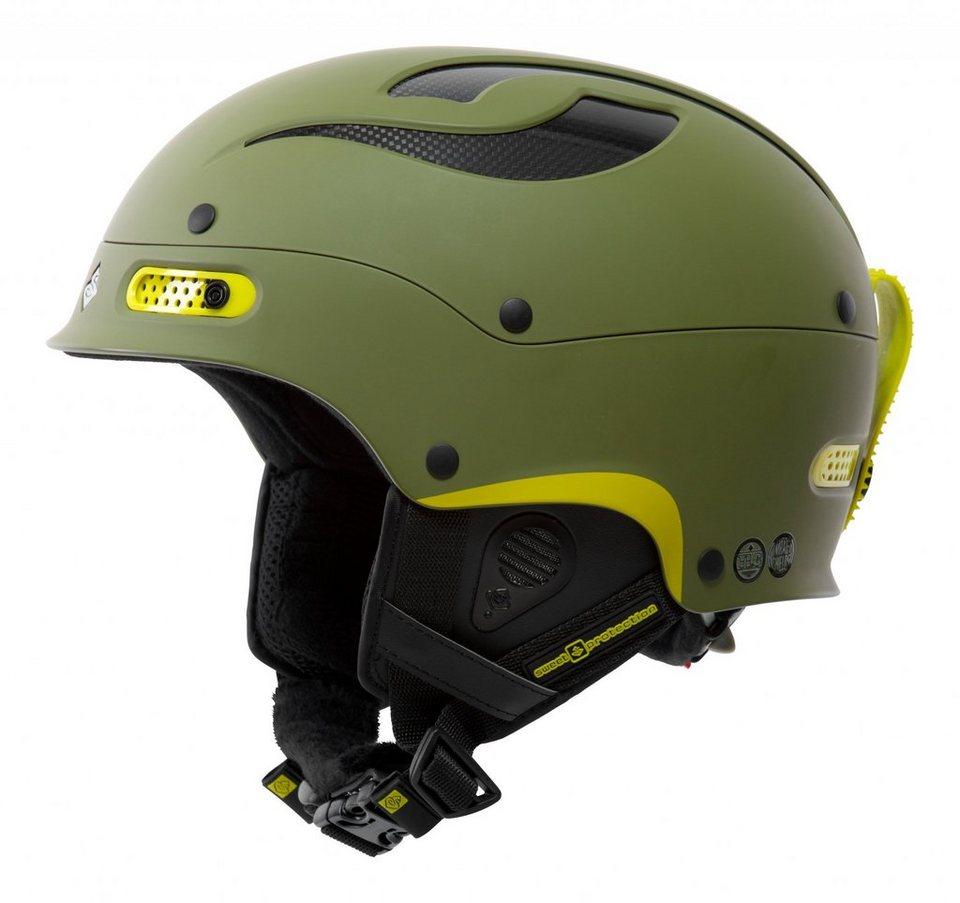 Sweet Protection Ski - / Snowboardhelm »Trooper Ski Helmet« in oliv