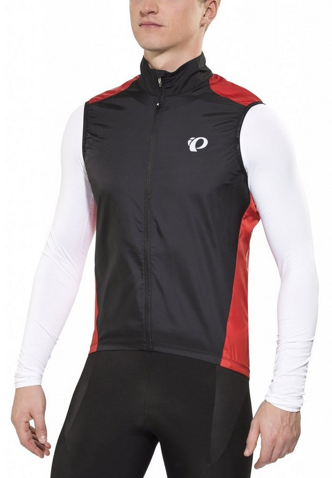 PEARL iZUMi Weste »ELITE Barrier Vest Men true red/black« in schwarz
