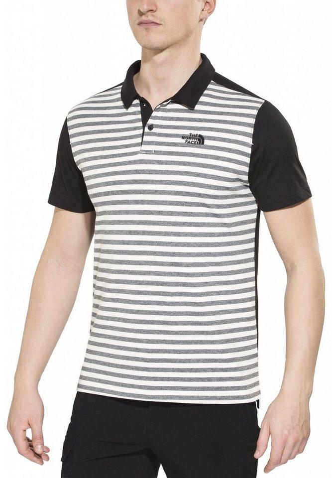 The North Face T-Shirt »Contour Polo Men« in grau