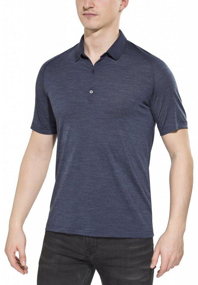 Icebreaker T-Shirt »Sphere SS Polo Men« in blau