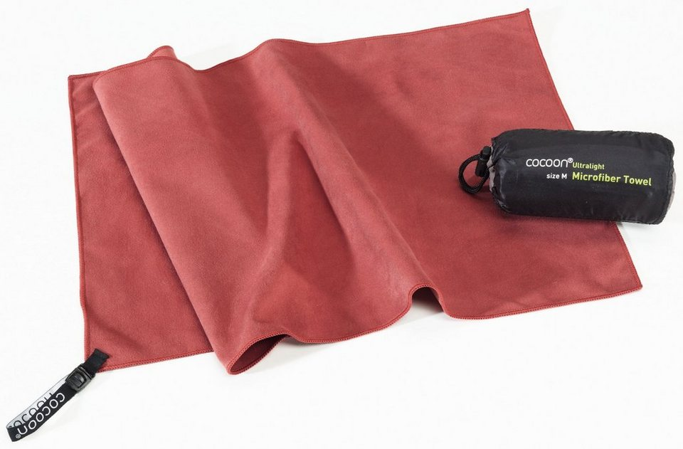 Cocoon Reisehandtuch »Microfiber Towel Ultralight Large« in rot