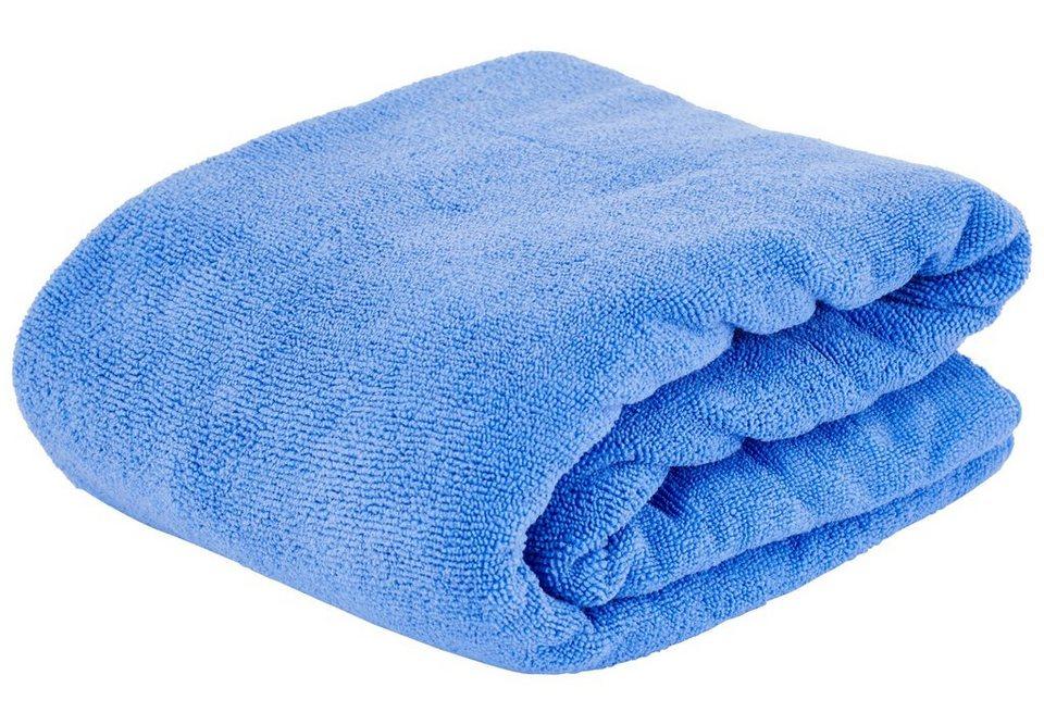 CAMPZ Reisehandtuch »Terry Towel XL« in blau