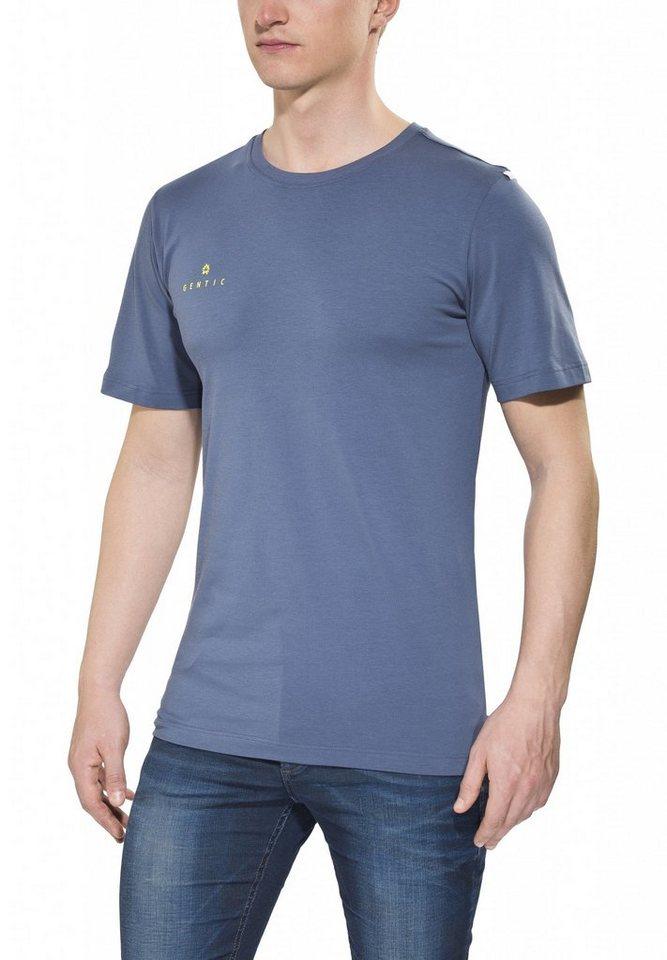 Gentic T-Shirt »New School Tee Men« in blau
