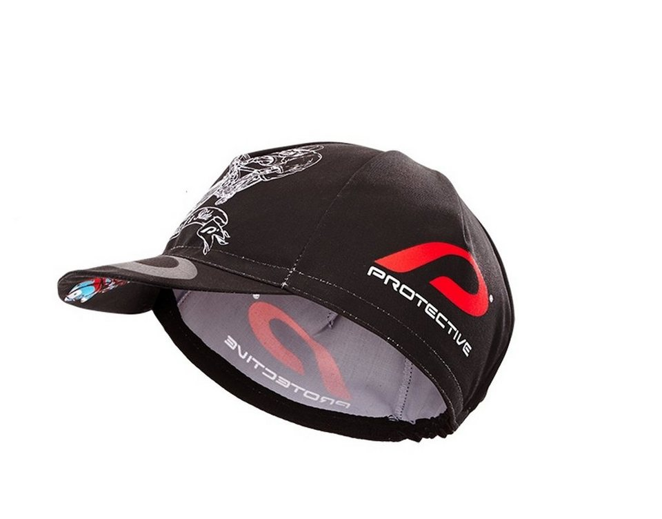 Protective Hut »Hell Rider Cycle Cap« in schwarz