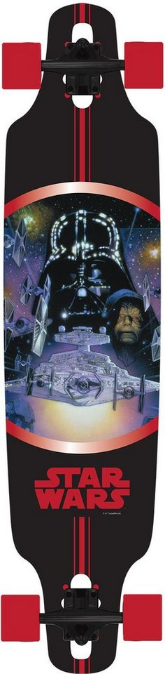 Star Wars Longboard, »Vader« in mehrfarbig