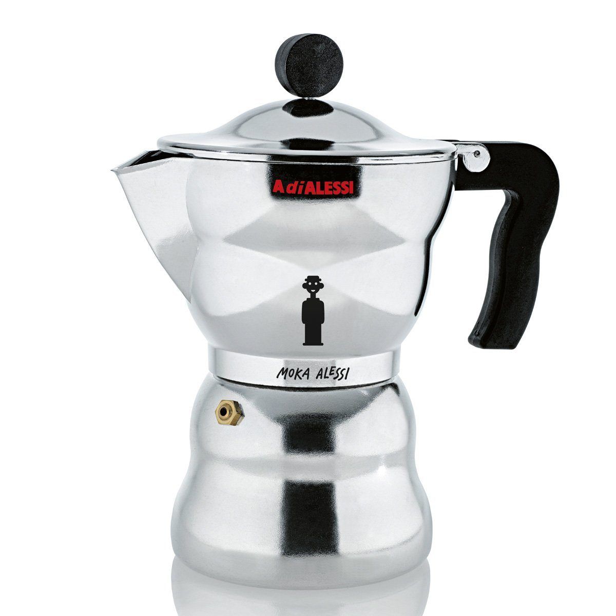 Alessi Alessi Espressomaschine MOKA ALESSI 6 Tassen