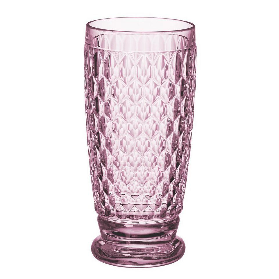 VILLEROY & BOCH Longdrinkglas rose 162mm »Boston coloured« in Dekoriert