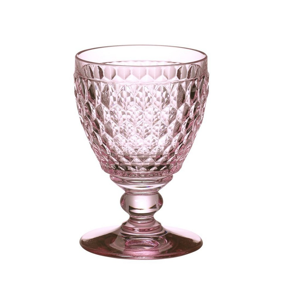 VILLEROY & BOCH Wasserglas rose 144mm »Boston coloured« in Dekoriert