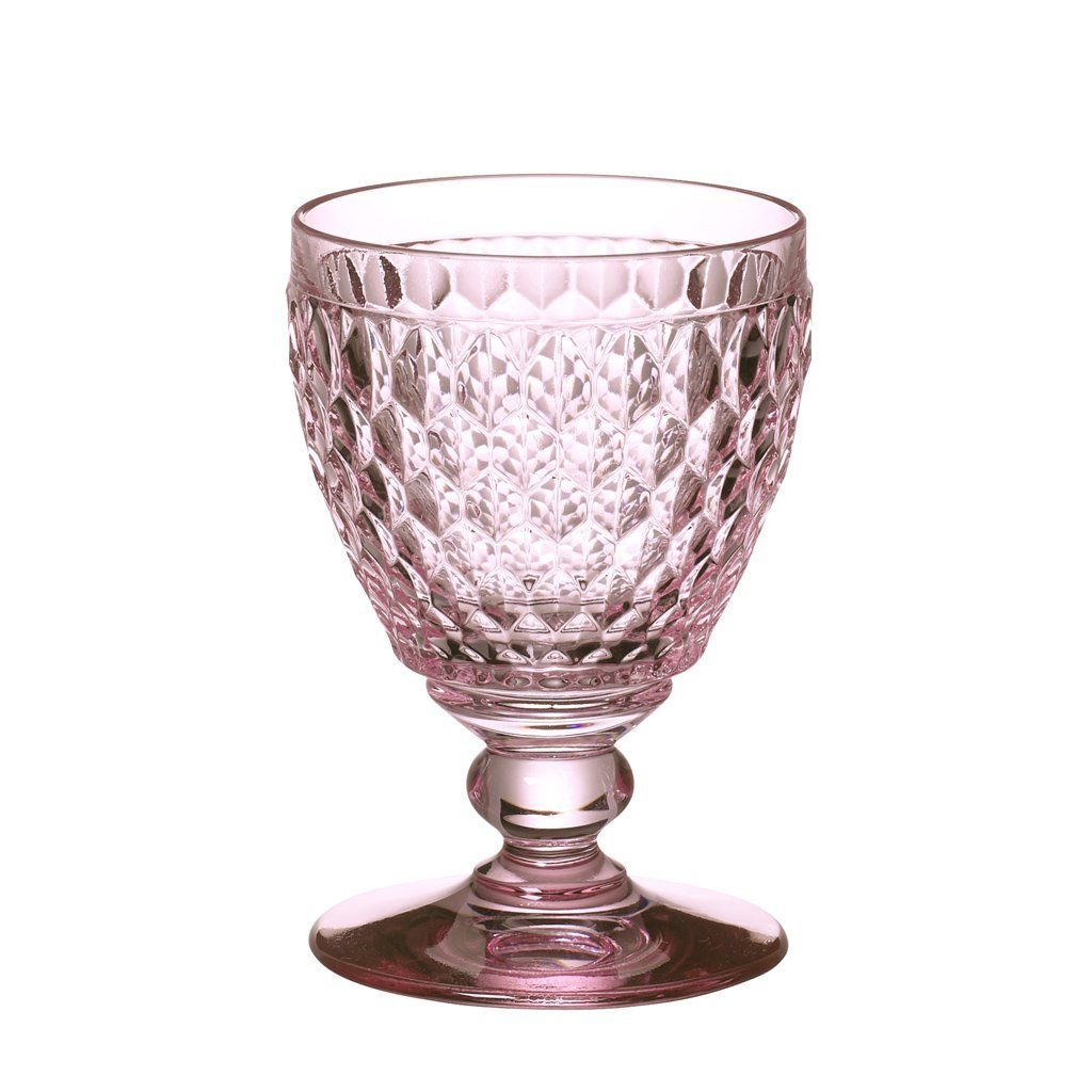 VILLEROY & BOCH Wasserglas rose 144mm »Boston coloured«