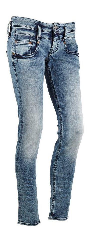 Herrlicher Jeans »Pitch Slim Denim Stretch« in placid