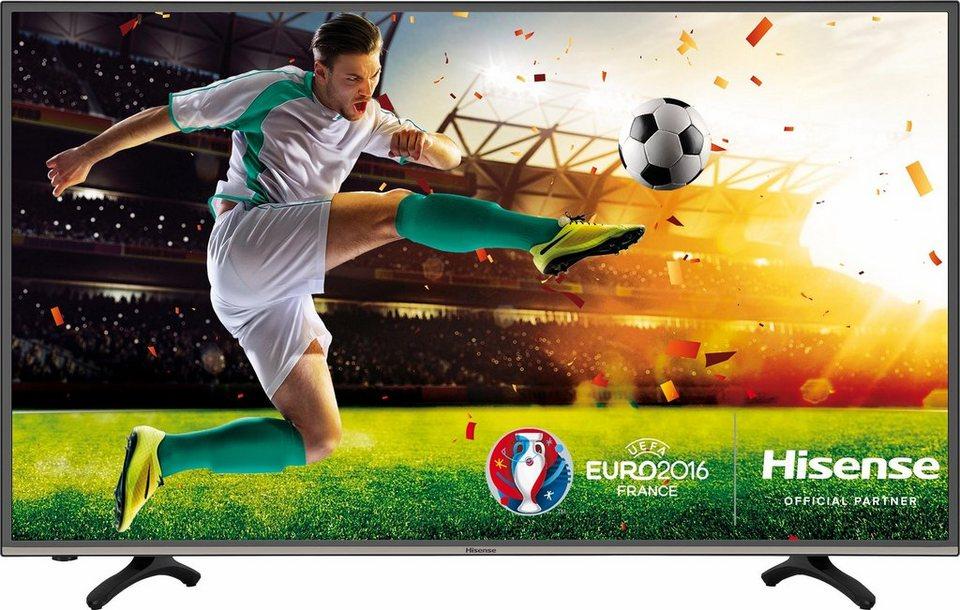 Hisense H49MEC3050, LED Fernseher, 123 cm (49 Zoll), 2160p (4K Ultra HD), Smart-TV in schwarz