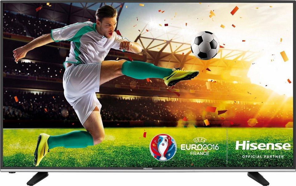 Hisense H55MEC3050, LED Fernseher, 138 cm (55 Zoll), 2160p (4K Ultra HD), Smart-TV in grau