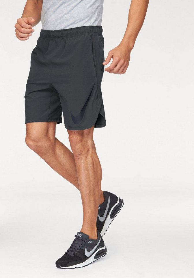 "Nike HYPERSPEED WOVEN 8"" SHORT Shorts in Anthrazit"