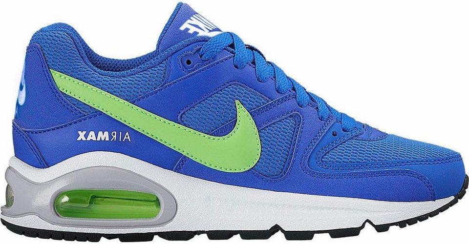 Nike Sneaker »Air Max Command GS« in royalblau-neongrün