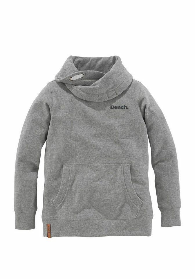 bench sweatshirt mit gro em schalkragen kaufen otto. Black Bedroom Furniture Sets. Home Design Ideas