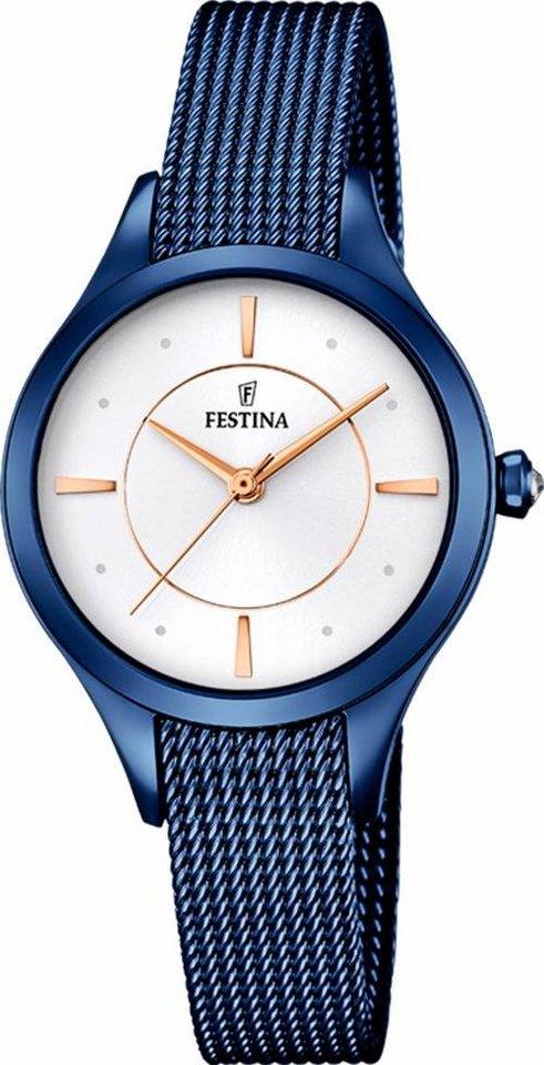 Festina Quarzuhr »F16961/1« in blau