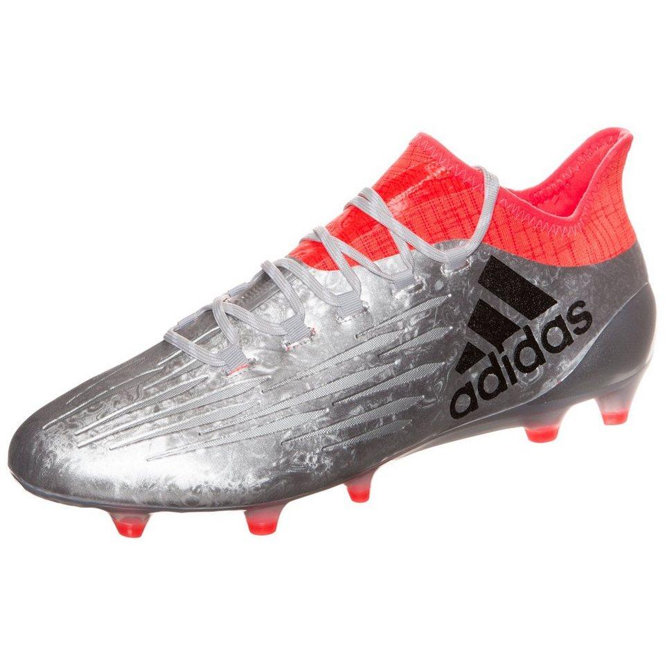 adidas Performance X 16.1 FG Fußballschuh Herren in silber / orange