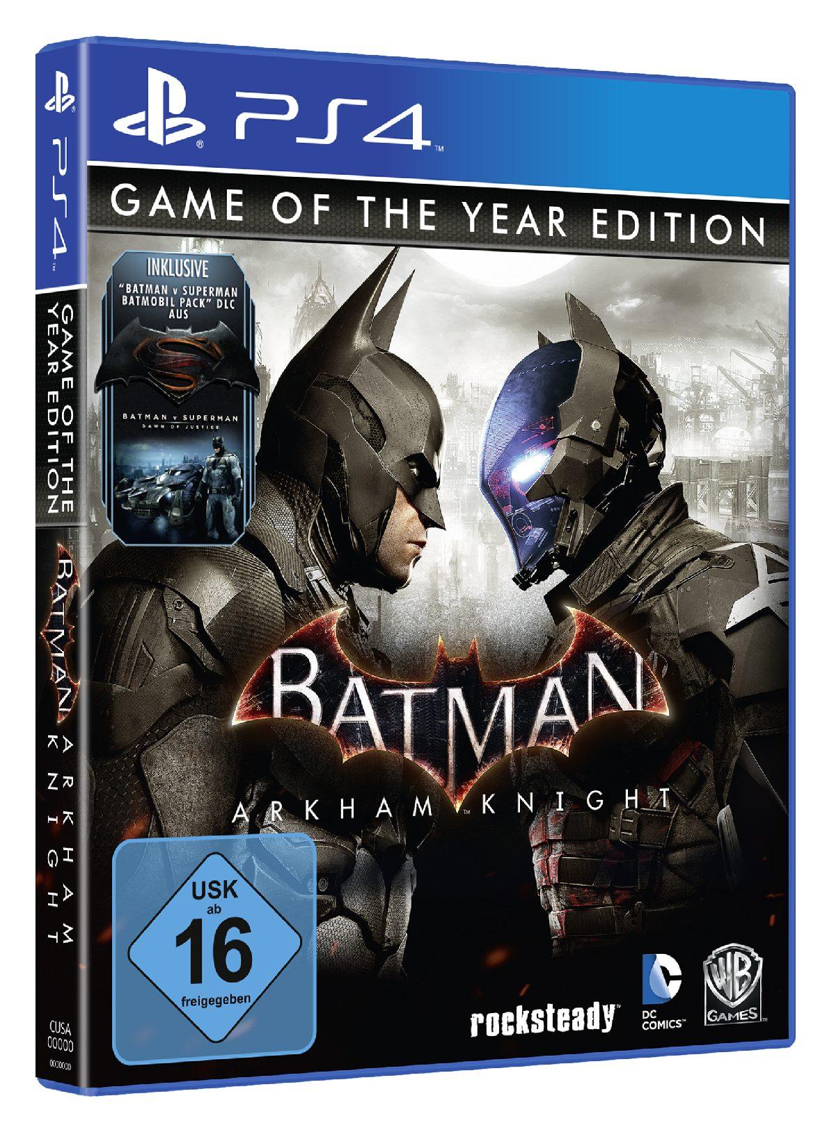 Warner Games Batman: Arkham Knight GOTY »(PS4)«